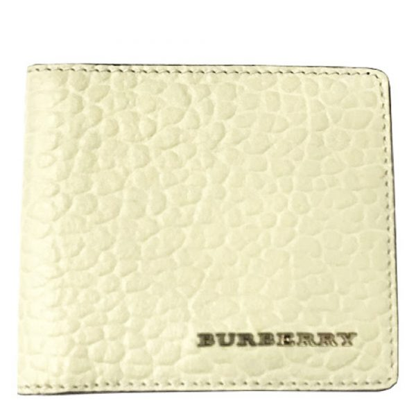 BURBERRY BIFOLD WALLET WHITE BURBERRY-3966521