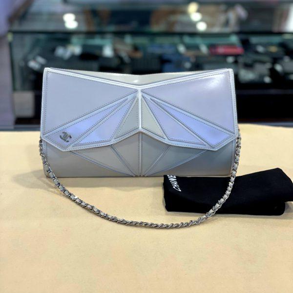 Vintage Chanel Geometric Clutch bag